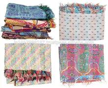 diseñador de antiguos fresco llegada de invierno tribales banjara vintage étnicas bordado chales de lana