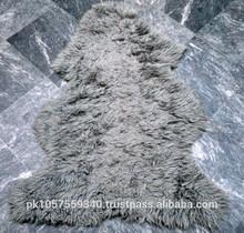 Natural SHEEPSKIN RUG, SHEEP RUGS STOCK LOT, LAMBSKIN, SHEEP FUR HIDE HAIR ON RUGS SALE