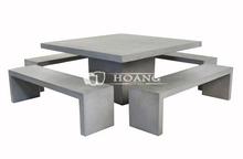 Lightweight Concrete Garden Furniture