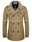 High Quality Stylish Wool Coat/ Fitted Coat/ Army Wool Coat