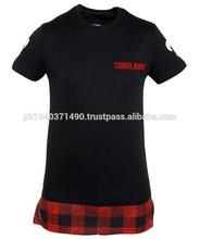 T-shirt oversize Criminal Damage 74 Long Tee Noir Bandana/Opening Ceremony Bandana T-Shirt sz L Paisley Patch