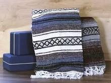 Anti-Slip Cotton Yoga Blanket
