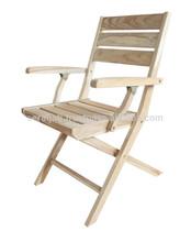 Teak beautiful Folding Chair Omega with Arm