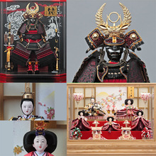 Handcrafted Japanese toy doll , Hina / Gogatsu Ningyo Doll with wishes of good health