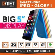 "SMARTPHONE IPRO GLORY I - 3G - 4GB - DUAL CORE - 5"" DISPLAY - DUAL CAMERA FLASH LED - DUAL SIM - WIFI - BLUETOOTH"