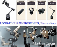 High quality and Excellent measure scope with portable optical unit, Long-focus microscopes at low cost avoiding interference