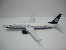 MONGOLIAN AIRLINES airplane metal plane model diecast