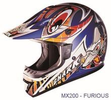 Shark motocross helmet