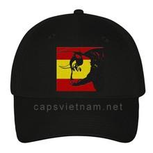 Spanish fleece baseball caps