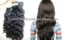 No chemical add no tangle no shedding double drawn remy human hair