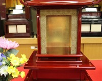 lacquer altar cabinet for handicraft high quality ancient design