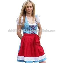2014/2015 New Style women dirndl, oktoberfest dirndl dress for women
