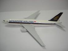 SINGAPORE AIRLINES airplane metal plane model diecast