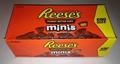 Reese's manteiga de amendoim copos, miniaturas, chocolate ao leite- 2.5 saco de oz