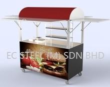 Burger Cart - KS - 11589 Kiosk & Stall
