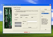 2014 Hot Sales Nissan Pin Code calculator for all new BCM modules,Key Code For Infiniti and Nissan Cars for wholesale in stock