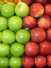 Fresh Fuji Apples .