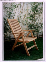 Wooden furniture folding chair from Fsc furniture indonesian manufacture