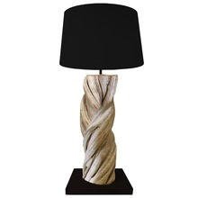 Spring Wood Table Lamp 50 - Driftwood decorative - CE UL Certified