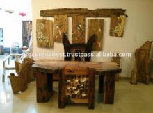 Reclaimed Ship Wood Desk