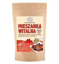 Breakfast vital mix 300g (flax seed, dried strawberry, chickpeas, pumpkin seeds)