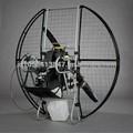 Flat Top Ninja Paramotor 1 alimentado parapente Paraglider segurança e desempenho