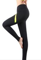 fitness yoga wear slim fit training pants
