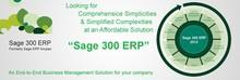 Sage 300 ERP Solution