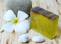 Handmade Soap: Fruit Natural Avocado Handmade Soap 100 Grams.