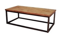 Modern coffee shop tables walnut , oak and chairs