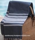 woven high quality 100% organic cotton tunisian fouta towel