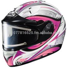 HJC IS-16SN Lash MC-8 Pink Ladies Full Face Snowmobile Helmet