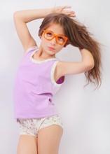 100% Egyptian combed cotton girls underwear set