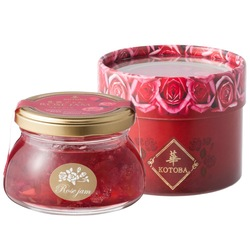 Rose petal jam, you can also use it for ice cream sauce