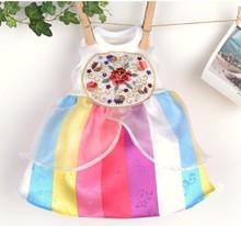 Korea fashionable elegant traditional pet clothes dress apparel clothing