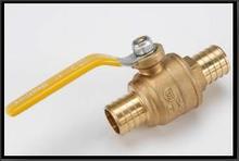 0.5 inch Brass Long Handle Ball Valve