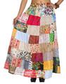 Las faldas de la india al por mayor, señora de alta calidad falda larga, venta al por mayor falda larga 2015
