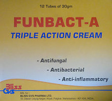 Funbac A Triple Action Skin Cream