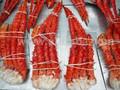 Cozido Norwergian rei vermelho caranguejo | fresco e congelado King Crab Clusters