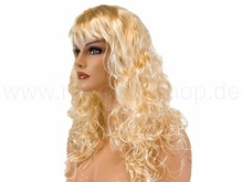 Long Hair Style wig Curly wigs white/blonde