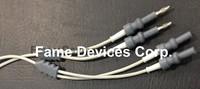 Bipolar Cable / Bipolar Artery Sealer cable Valleylab + 2 banana plug reusable
