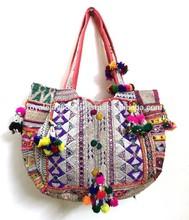 Gypsy Handcrafted Shoulder Bag Kutch India Ethnic Fashion Accessory