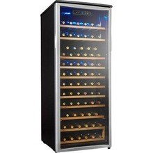 Da......nby Design.....er 10.6....-cu. ft. w.i..n..e ...co....ole...r - P.l.atin.um/black , black cabinet, platinum trim - DWC10