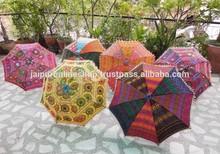 Lovely Decorative Sequens & Embroidered Fashion Women's Umbrella
