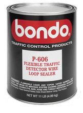 Bondo, P-606 Flexible Sealant, Per Gallon Traffic Wire Loop Sealer
