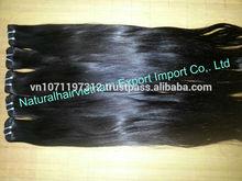 Natural color 6a grade top quality double drawn brazilian virgin hair 5 bundles