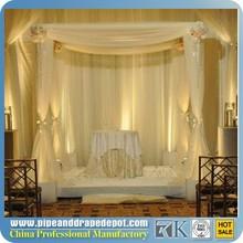 Romantic Fashionable Luxury fiber wedding mandap decoration