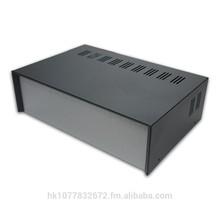 "SC1283 12""x3.5""x8"" Metal & Aluminum Electronic Project Enclosure Box for DIY"