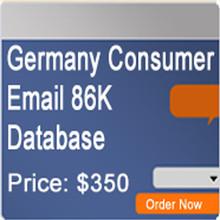 Germany Consumer Email Database