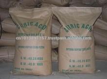 bulk high purity bp 98 30-100mesh citric acid anhydrous
